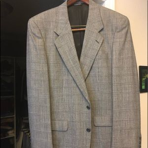 Men's classic single breasted sports coat